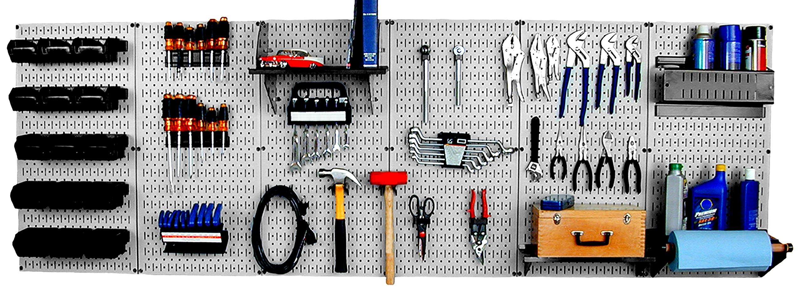 Wall Control 30-WRK-800GB Master Workbench Metal Pegboard Tool Organizer by Wall Control