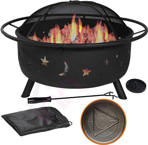31″ Outdoor Fire Pit Set