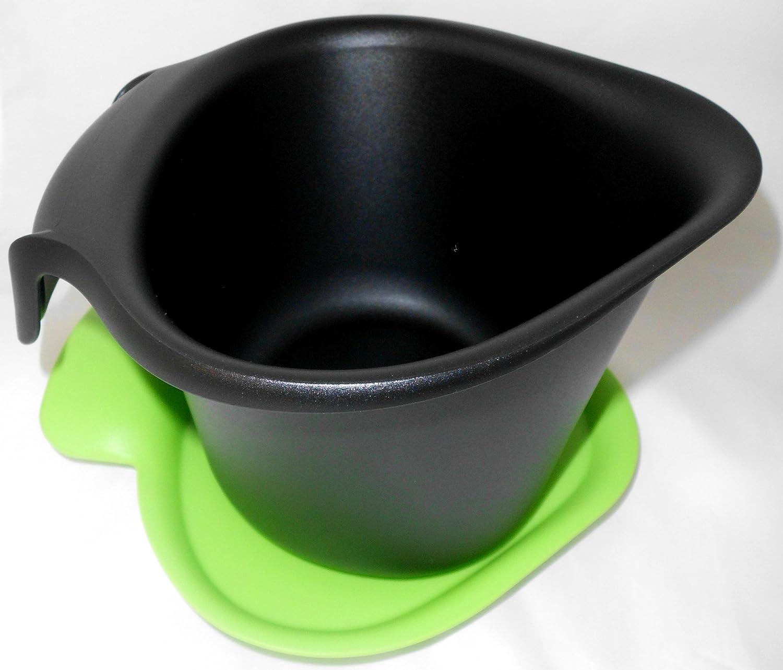 Tupperware Biomüll 1a tupper bio müll adretto schwarz grün 2 5l amazon de