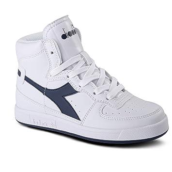 Diadora - Jr Ii Chaussures Dans Mon Panier C5866, Enfant, Bianco, 4,5y