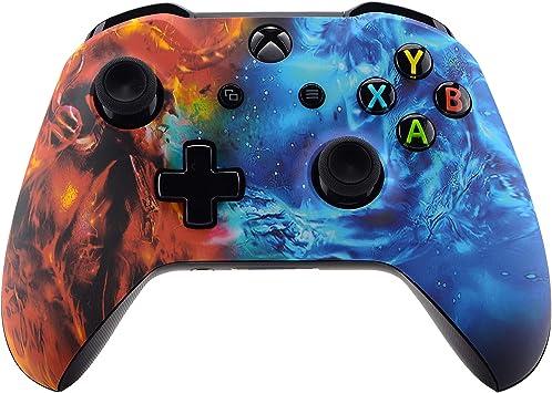 eXtremeRate Carcasa para Mando Xbox One Placa Delantera Funda ...