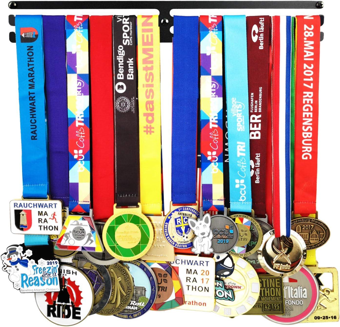 Sports Medal Hanger Holder Marathon Runner Medal Rack Display Decor Gift for Her