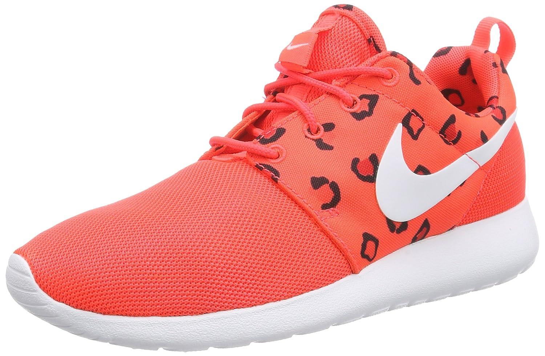 Nike Roshe One Print, Zapatillas de Running para Mujer 39 EU Rojo - Rot (Bright Crimson/White-hot Lava)