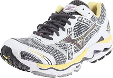 53f1722082d39 Amazon.com | Mizuno Women's Wave Nirvana 7 Running Shoe, White ...