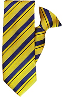0c958cc0ea80 Black and Silver Stripe Clip On Tie (JH-1088): Amazon.co.uk: Clothing