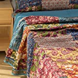 Comforbed Shabby Chic Floral 3 Pieces Country