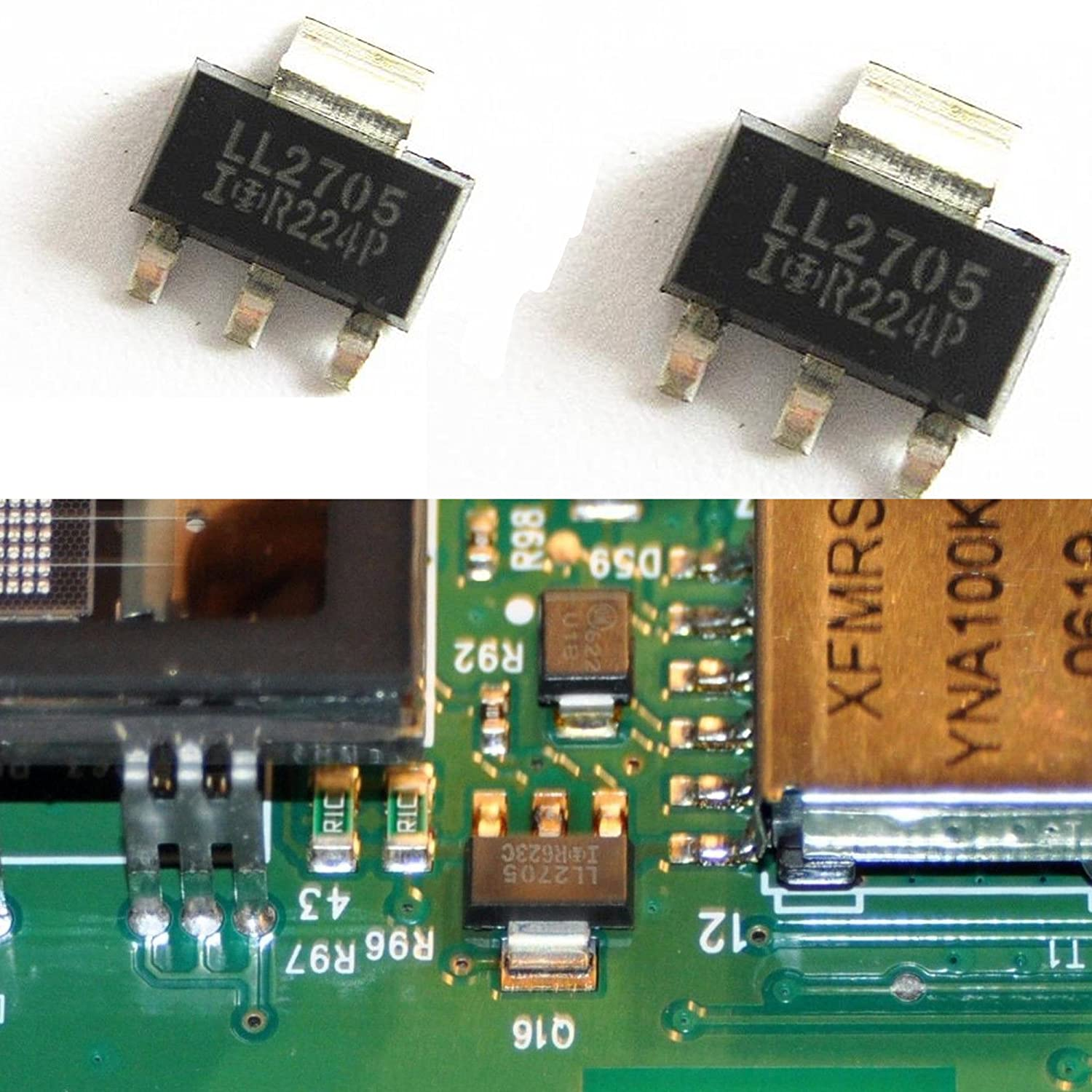 Ll2705 Mosfet fits a 2007 Suburban Tahoe Instrument Odometer Cluster Display