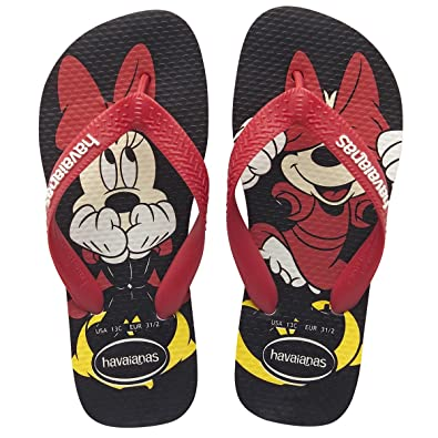d17b3dbea0f8 Kids Havaianas Disney Stylish Ruby Red White Flip Flops Sandals Minnie Mouse