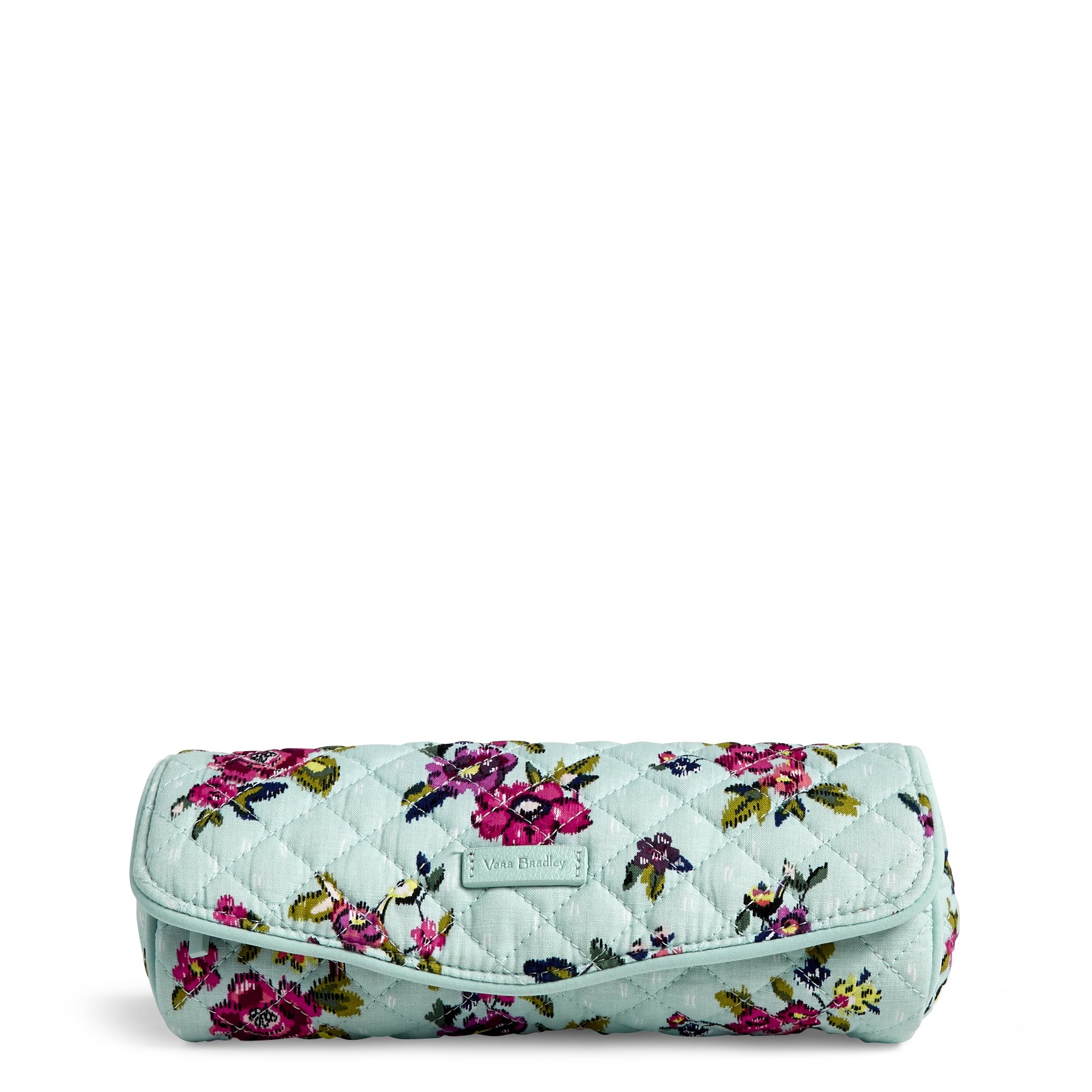 Vera Bradley Iconic on a Roll Case, Signature Cotton, Water Bouquet