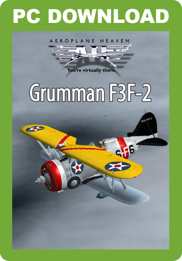 Aeroplane Heaven Grumman F3F-2 [Download]