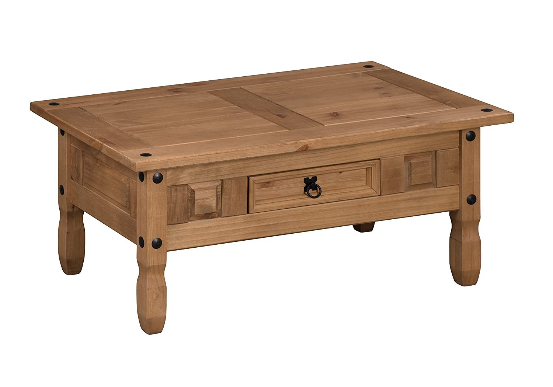 mercers furniture corona couchtisch kiefer massiv antique wax 100 x 60 x 45cm ebay. Black Bedroom Furniture Sets. Home Design Ideas