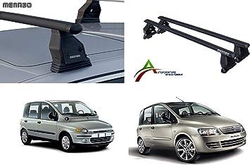 Barre PORTATUTTO Portapacchi da Tetto per Auto Senza RAILINGS Kit di Attacco SPECIFICO per Auto Sistema di Montaggio con Barre