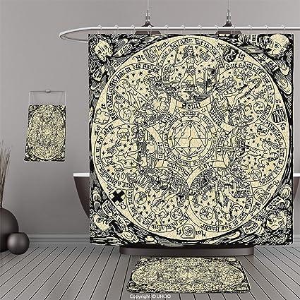 uhoo trajes de baño   ducha cortinas Piso Esteras y tina towelsastrology  decoraciones llittle Escorpio Horóscopo 1735019d26c0