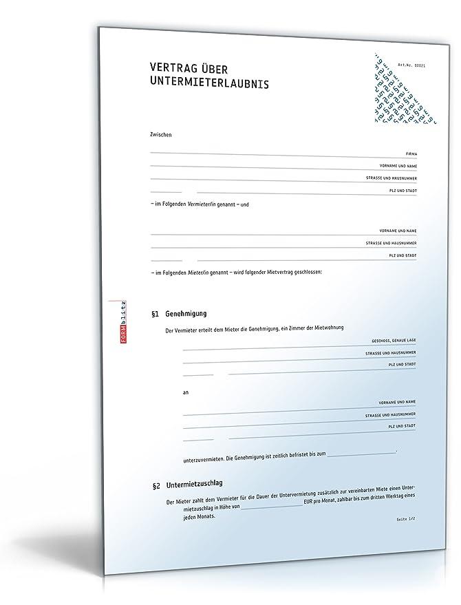Großzügig Monatsmietvertrag Vorlage Bilder - Dokumentationsvorlage ...