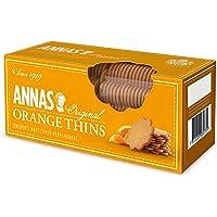Anna's Orange Thins, Traditional Swedish Pepparkaka Ginger Orange Thin Biscuits, 150g