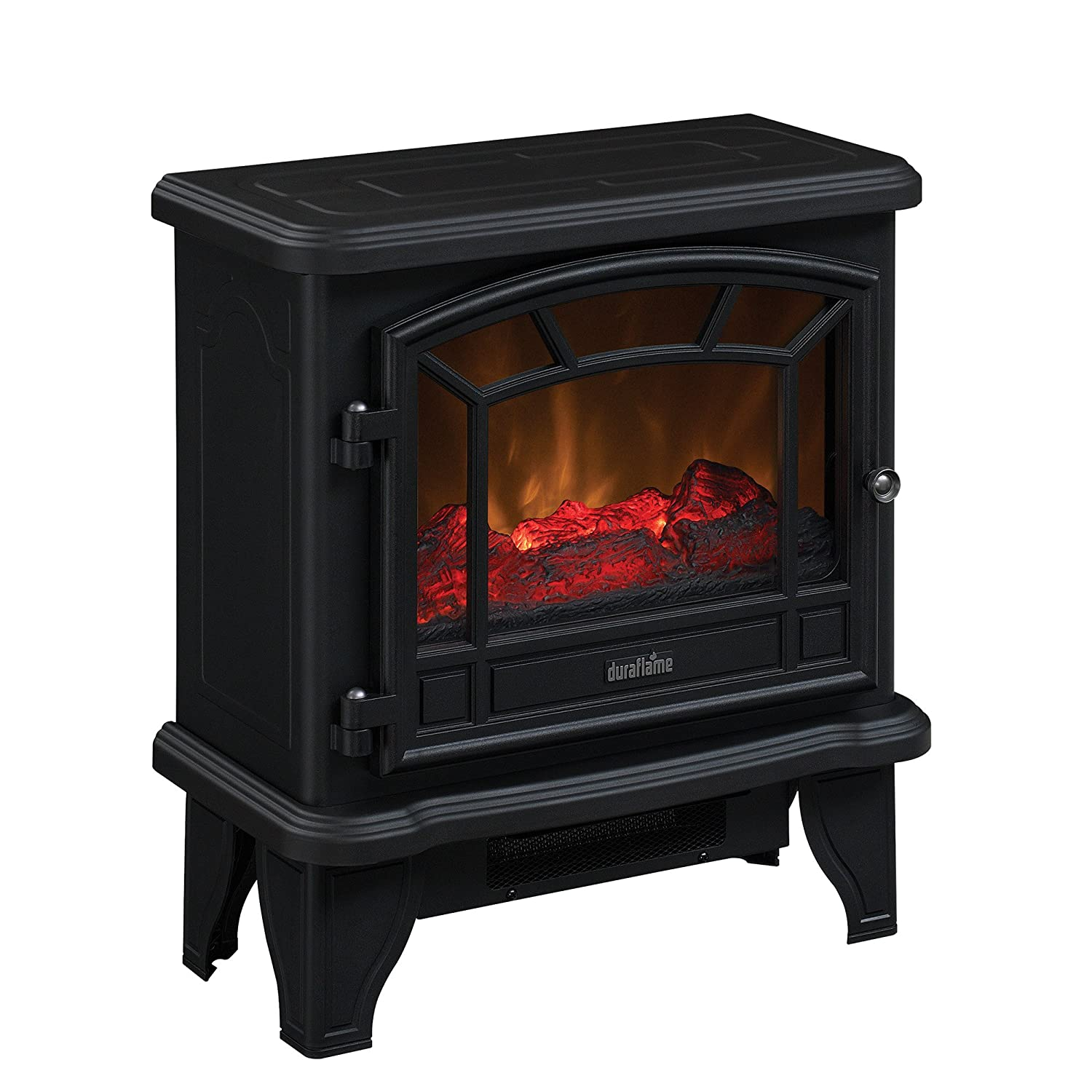 Amazon.com: Duraflame DFS-550-21-BLK Maxwell Electric Stove with Heater  1500W, Black: Home & Kitchen