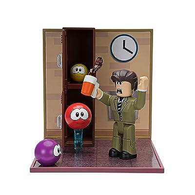 Roblox Desktop Series Collection - Meep City: Principal Panic [Includes Exclusive Virtual Item]: Toys & Games