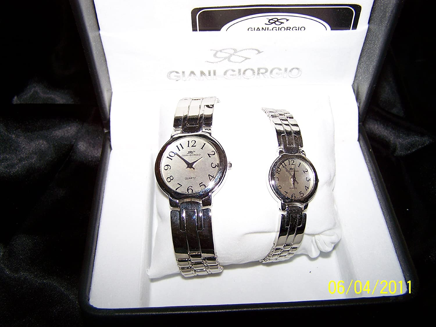 Amazon.com: (New) Giani-Giorgio Quartz His & Hers Excellent Collection: Watches