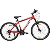 Hercules Roadeo Rampage 26T 21 Speed Premium Geared Cycle(Red)