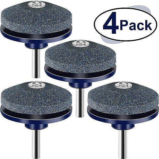 Honoson 4 Pack Afilador de Cuchillas Afilador de cortadoras de ...