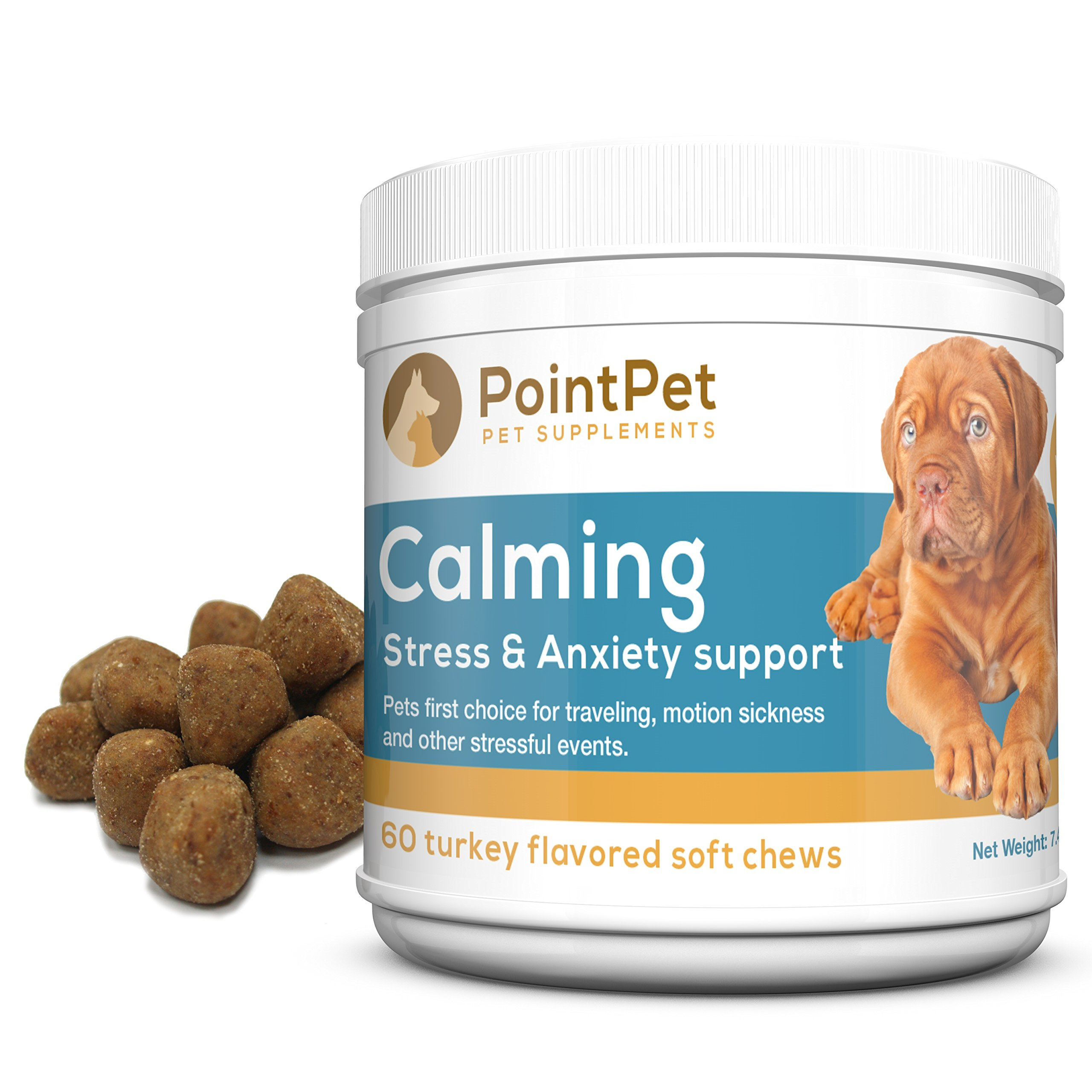 Anxiety & Stress Relief for Dogs Soft Chewable Calming