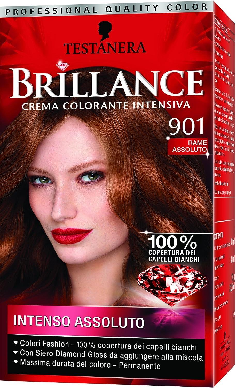 TESTANERA Brillance 901 Cobre Absolute Color Y Tintes: Amazon ...