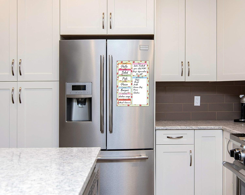 Roystone Print Works Pizarra de Alimentos para frigorífico con ...
