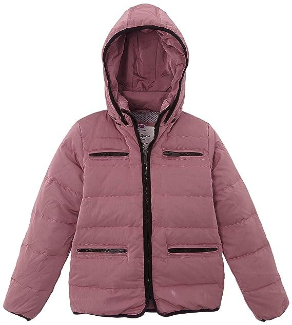 Pepe Jeans - Abrigo para niña, color violett (lt plum 421), talla l: Amazon.es: Ropa y accesorios