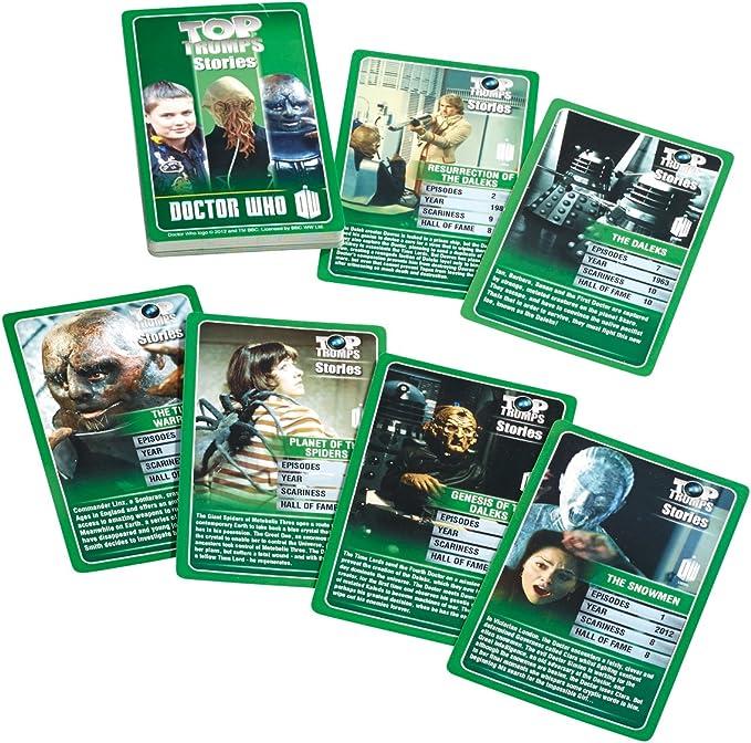 Diamond Doctor Who - Juego de Cartas, para 2 o más Jugadores Comics 21784 (versión en inglés): Amazon.es: Juguetes y juegos