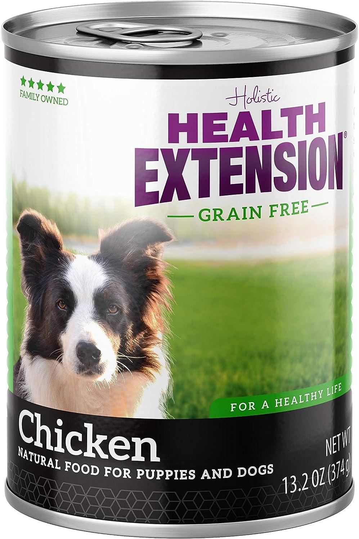 Health Extension Grain Free 95% Chicken 13.2-Ounces, Case Of 12