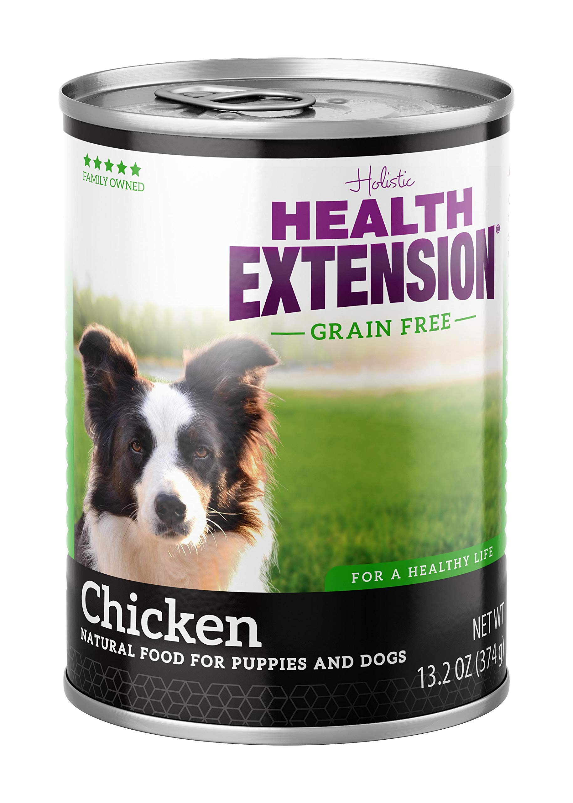 Health Extension Grain Free 95% Chicken 13.2-Ounces, Case Of 12 by Health Extension