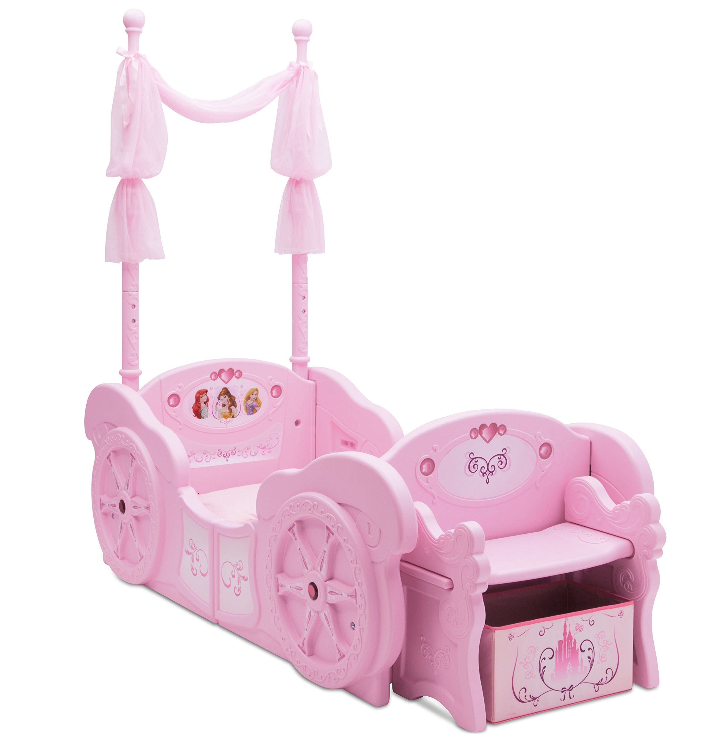 Delta Children Disney Princess Carriage Toddler-to-Twin Bed by Disney