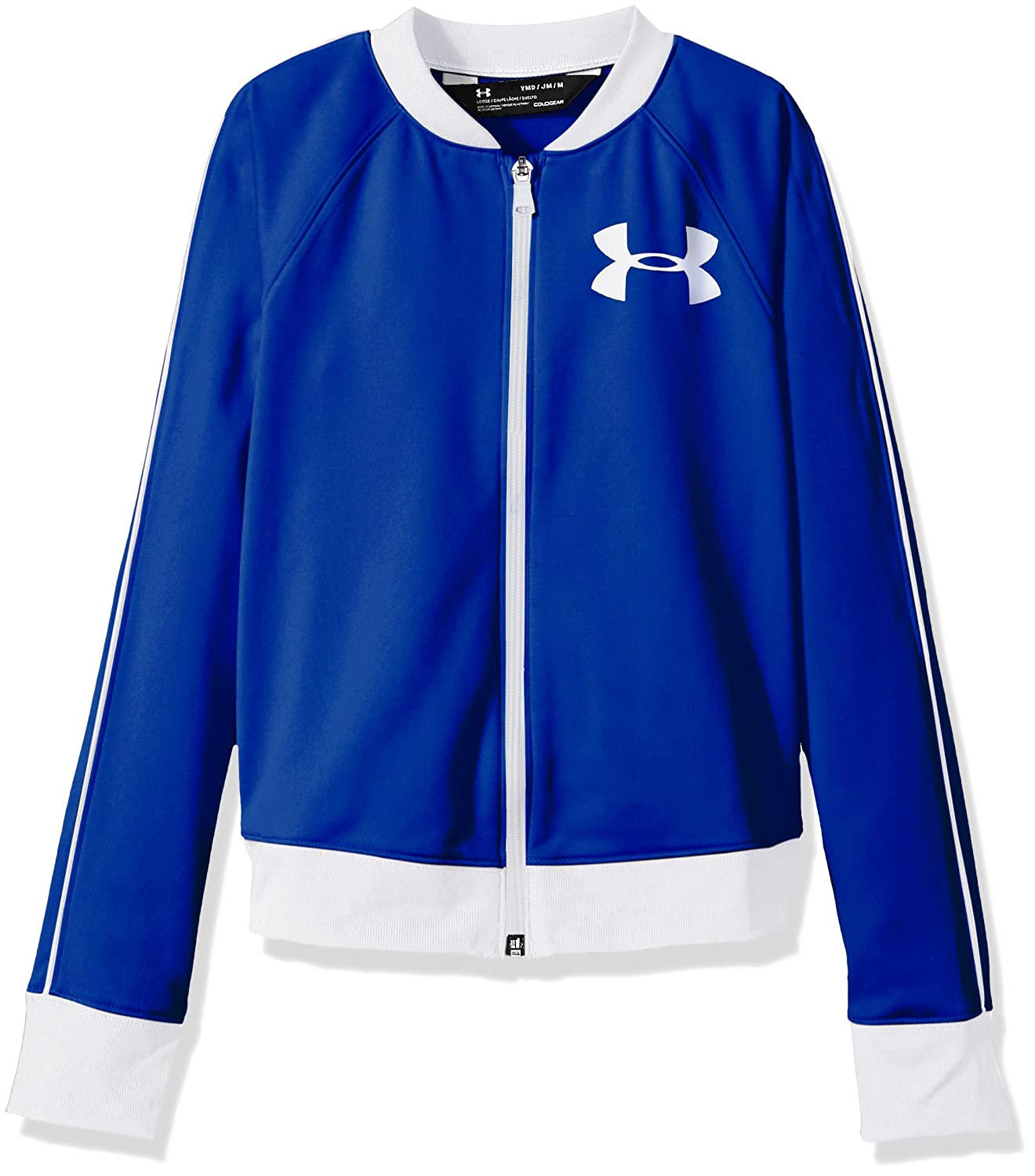 18a4f1db7c89 Amazon.com  Under Armour Girls  Track Jacket  Sports   Outdoors