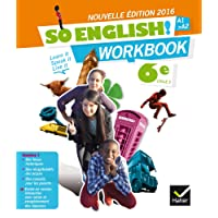 So English! Anglais 6e éd. 2016 - Workbook