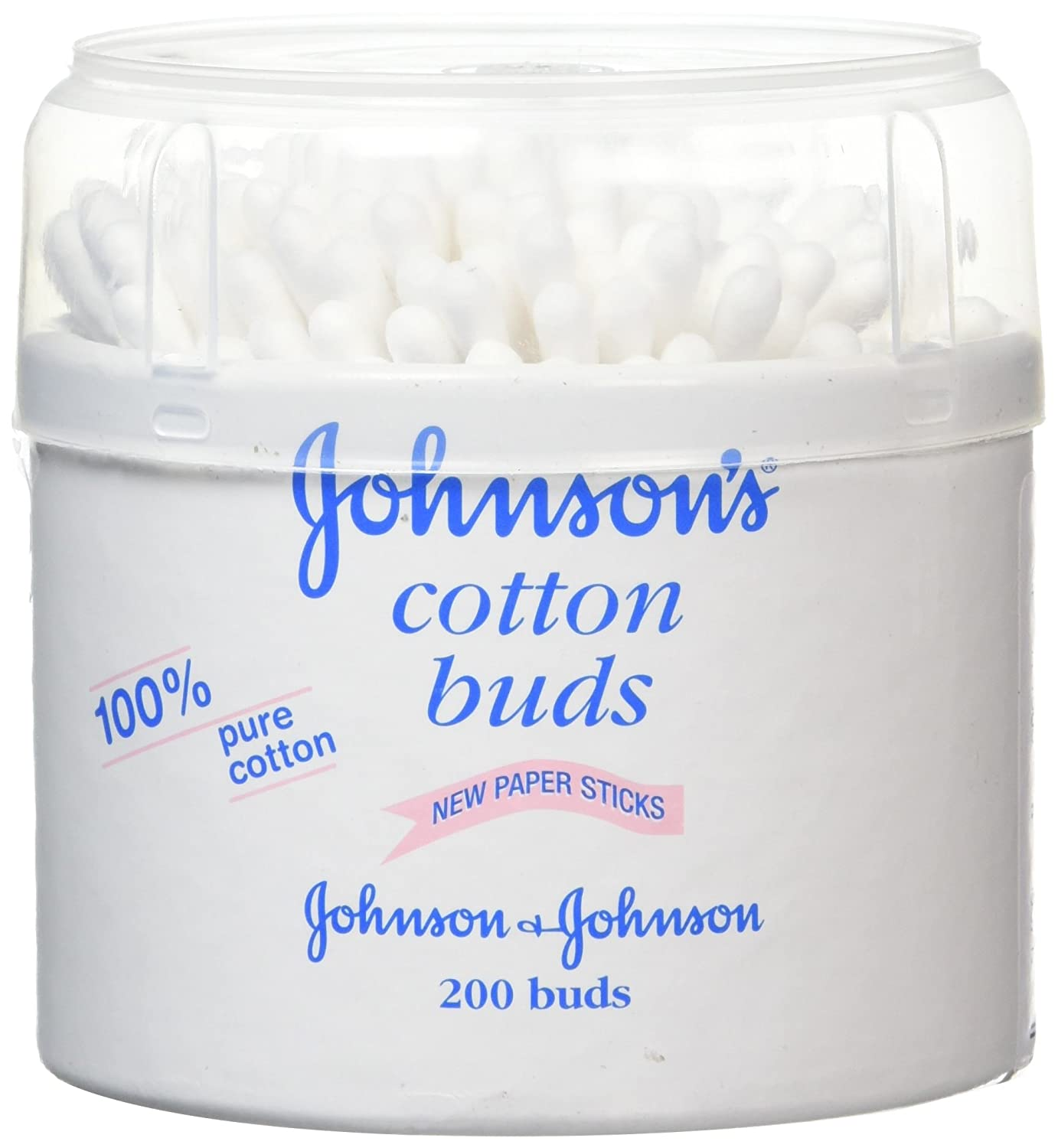 Johnson Baby Cotton Buds, confezione da 200 Johnsons 98680