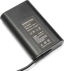 65W Laptops Charger AC Adapter for Dell Latitude 7480 7490 E7270 3400 E6430 ATG E5530 5400 5480 E6440 E7440 E5430 E5470 Vostro 3500 Chromebook 3181 Precision M6600 XPS 15 L501X Supply with Power Cord