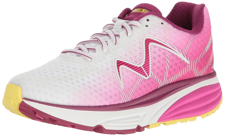MBT Women's Simba 17 W Sneaker B01MSAOL4M 7.5 B(M) US|Pink/Yellow