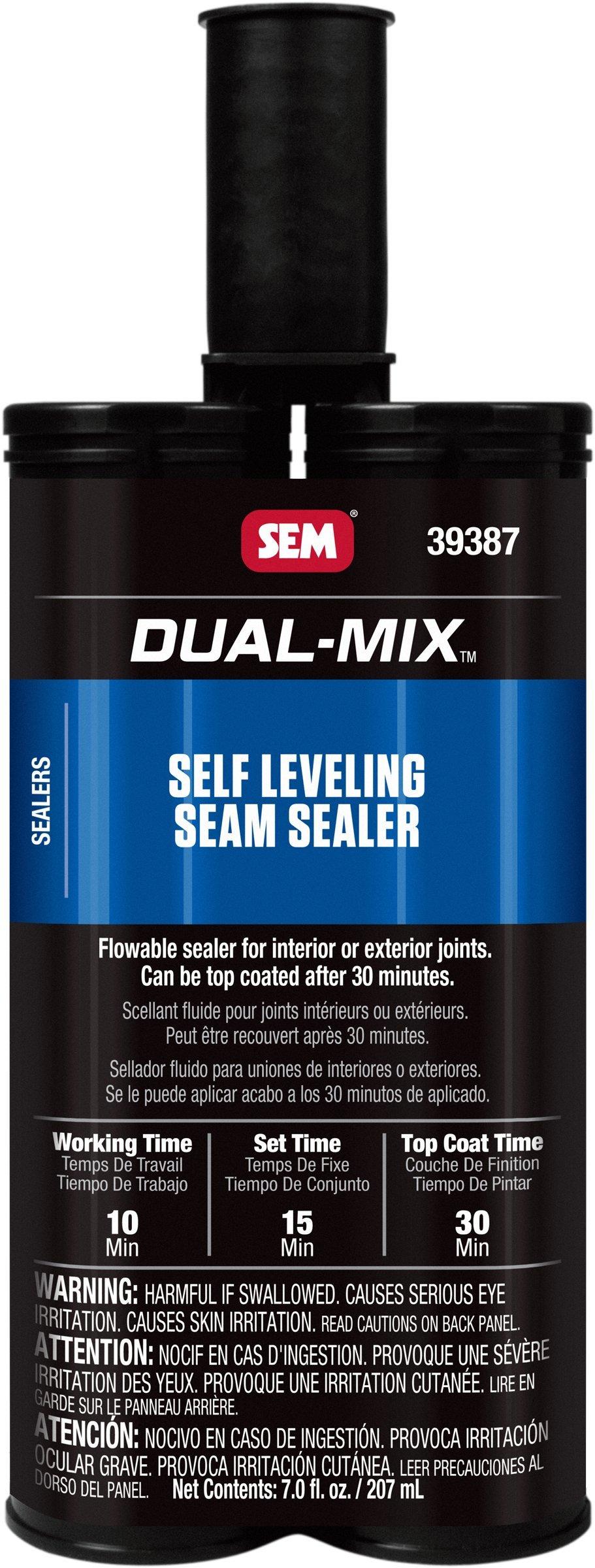 SEM 39387 Self Leveling Seam Sealer, 7 oz by SEM