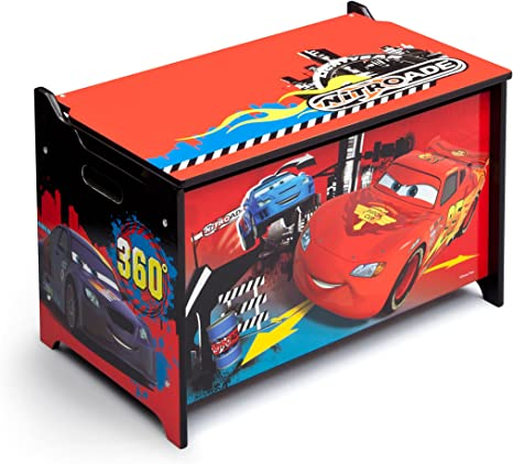 Delta Children Cars - Caja de juguetes, unisex: Amazon.es: Bebé