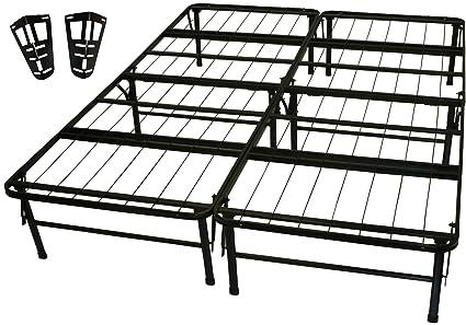 Amazon.com: DuraBed Steel Foundation & Frame-in-One Mattress Support ...