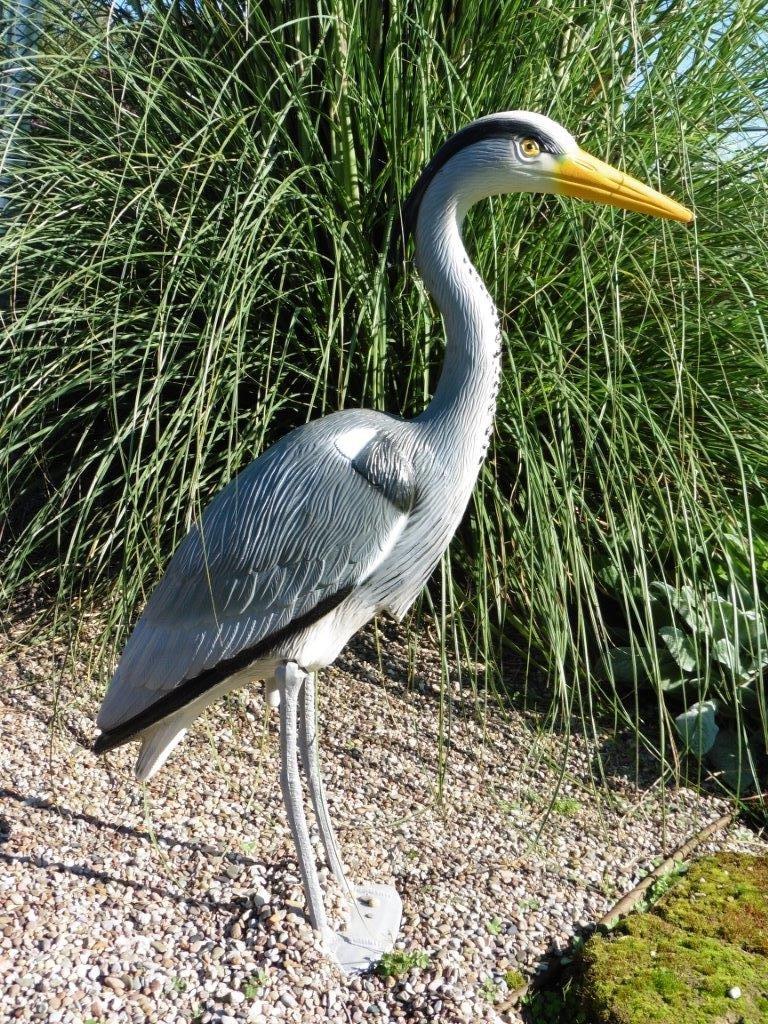 Heron en plastique pour bassin 7 figurine de bassin for Bassin plastique pour jardin