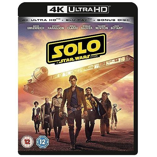 Solo: A Star Wars Story [4K] [2018] [Region Free]