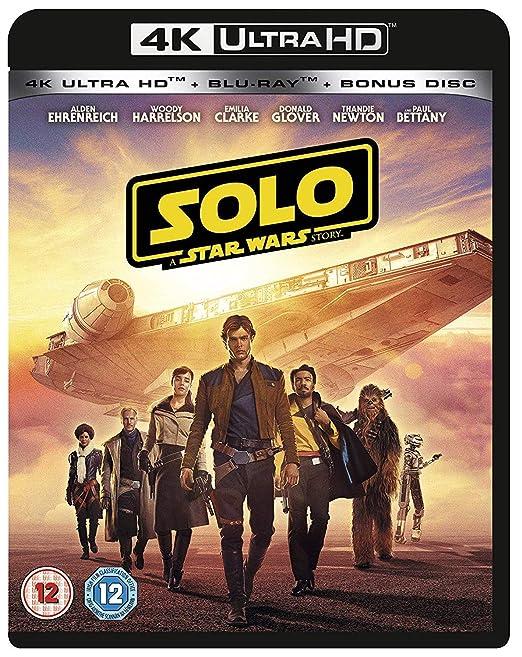 Amazon in: Buy Solo: A Star Wars Story [4K] [Blu-ray] [2018] [Region