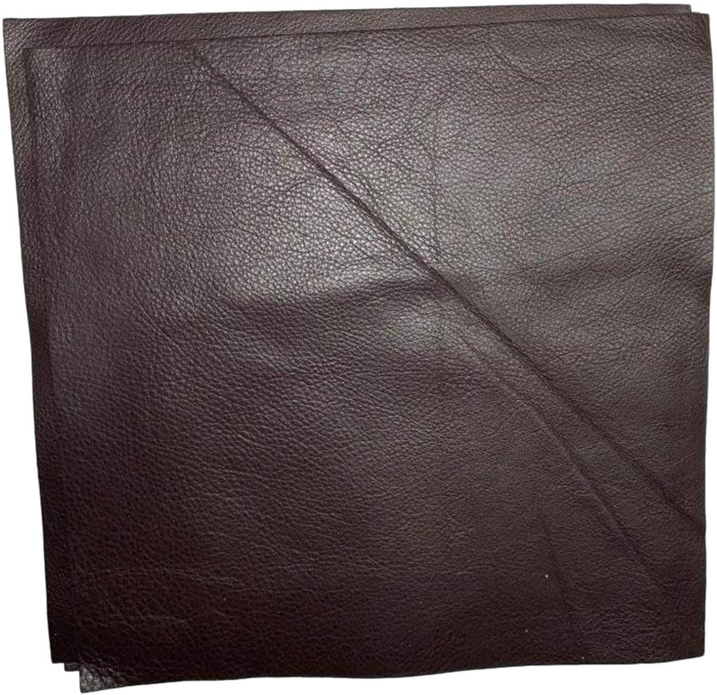 TOFFEE BROWN Textured Leather Roll Leather for Earrings and Hair Bows 8x54 Leather Roll