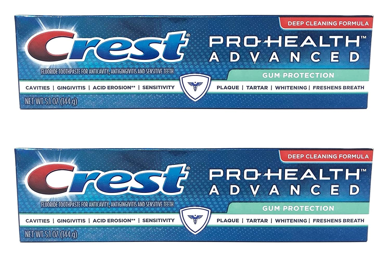Crest Pro-Health Advanced Gum Protection Toothpaste, 5.1 oz (Pack of 2)