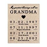 Amazon Price History for:Gift for Grandma, Personalized Gift for Grandma, Grandma Birthday Gift, Mothers Day Gift for Grandma, To Grandma From Granddaughter, Grammy Gift