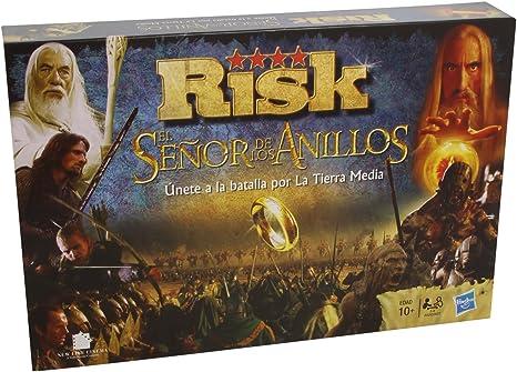 Hasbro Gaming Risk - El señor de los Anillos, juego de mesa ...