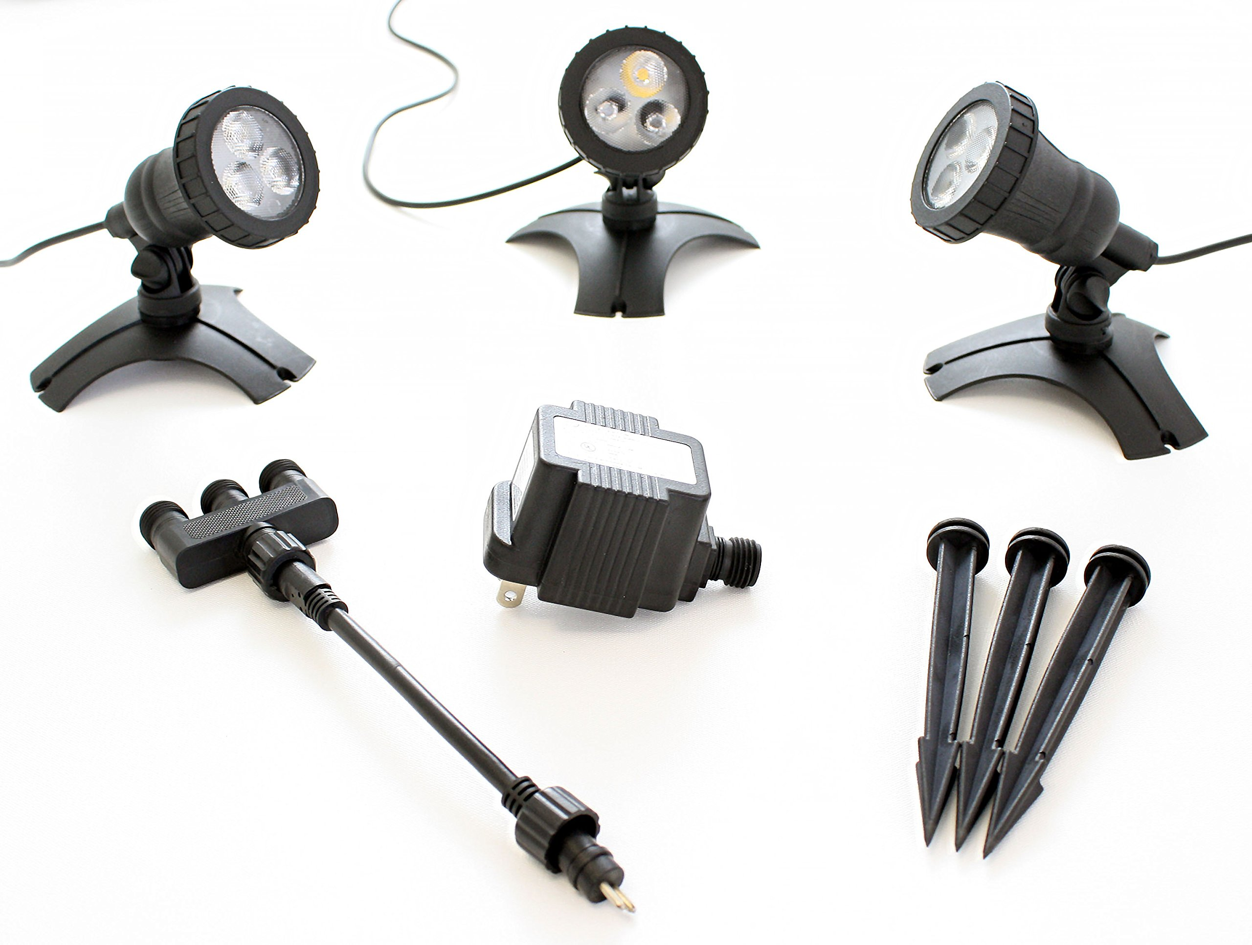 Pond Force LED Pond Light Kit (3 Light Kit)