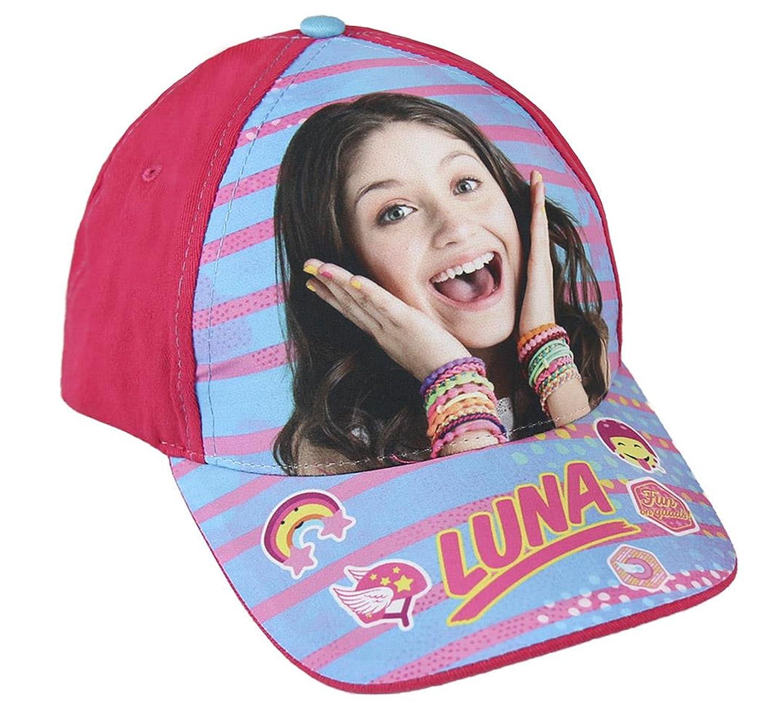 Disney Soy Luna 2200-2004 Gorra, Algodón, Niña Gorra Soy Luna 55 cms CERDA ARTESANIA