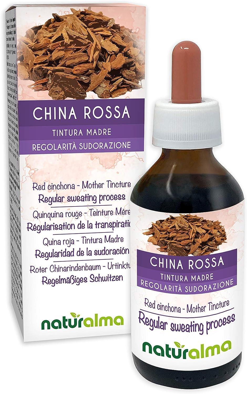 Quina roja (Cinchona pubescens o Cinchona succirubra) cortezas Tintura Madre sin alcohol Naturalma | Extracto líquido gotas 100 ml | Complemento ...